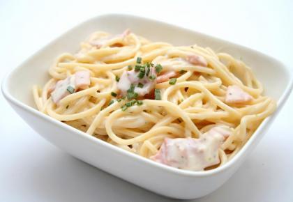 špageti Karbonara S Smetano Wwwkuharijasi